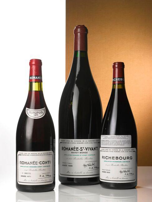 """""""Just remember the names of Domaine de la Romanée Conti and de Vogue"""" was a family friend'sadvice. Pictured:Lot 627: Romanée Conti 1971 Domaine de la Romanée-Conti; Côte de Nuits, Grand Cru; estimate per lot: $22,000-$32,000"""