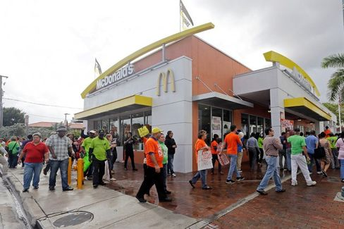Fast-Food Strikes Hit Record Numbers, Span 190 Cities
