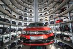 A new Tiguan sports utility vehicle (SUV), produced by Volkswagen AG (VW).