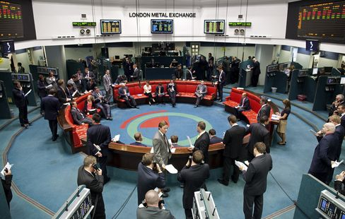 LME Facing Takeover as Record Commodity Volumes Draw Bidders