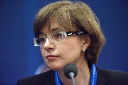 Bank of Russia First Deputy Governor Ksenia Yudaeva