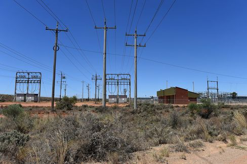 The solar plant is linked to an existing substation through a 22-kilovolt transmission line.