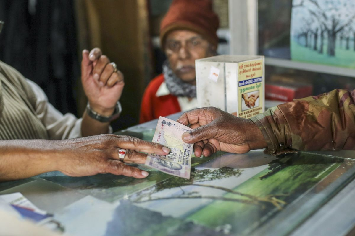 The Rupee Is Falling and India Should Let It