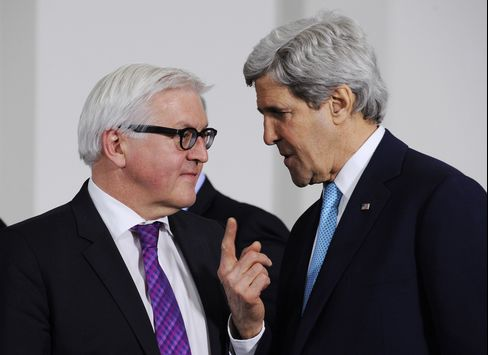 Secretary of State John Kerry and Frank-Walter Steinmeier