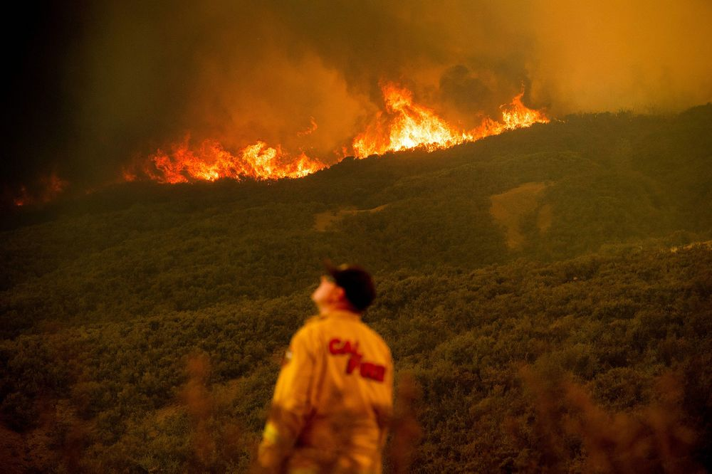 Trump Threatens to Cut California Firefighting Aid Over 'Old Trees'