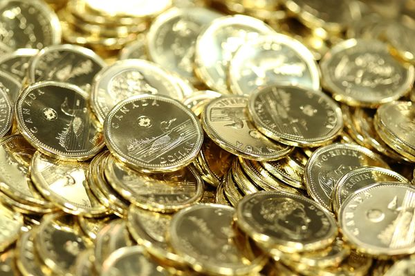 Operations At The Royal Canadian Mint As Loonie Steady Before Home Price Data