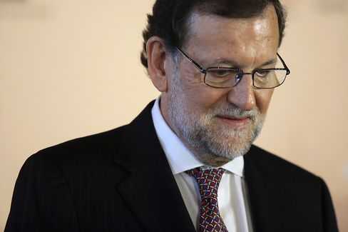 Spain's Prime Minister Mariano Rajoy At Pre Election Event