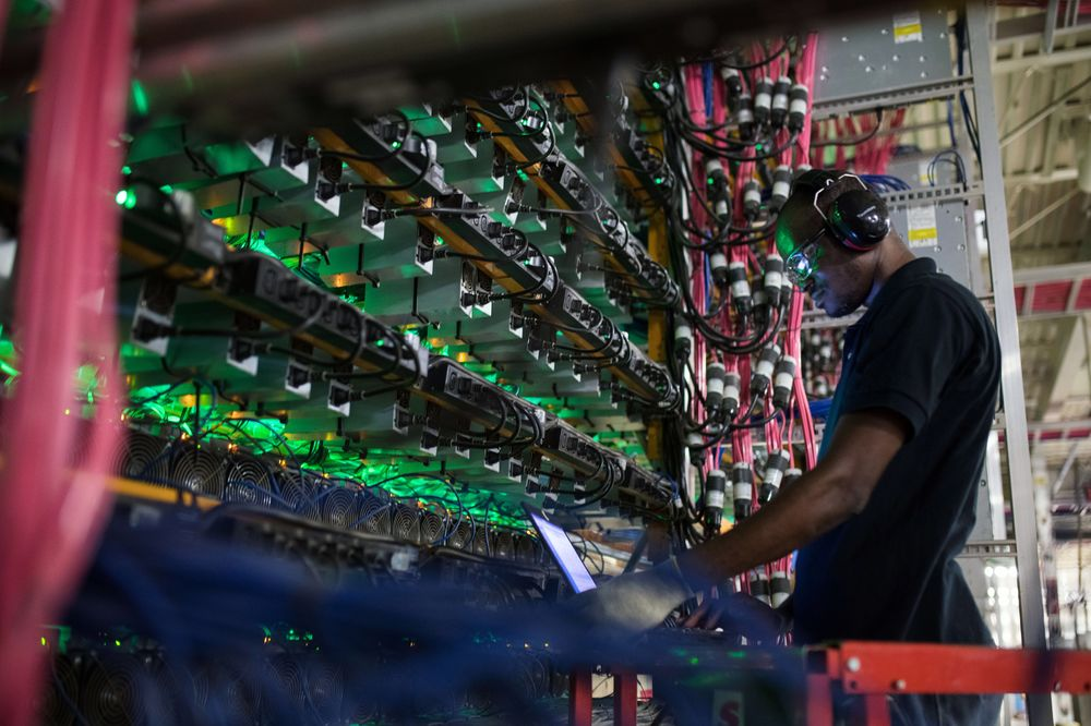 cryptocurrency mining naics code