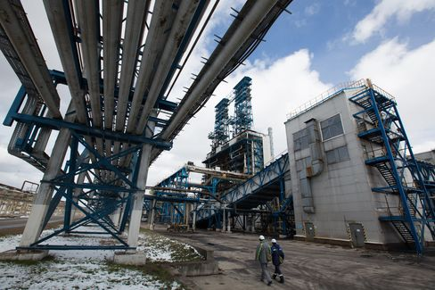 OAO Bashneft Oil Refinery