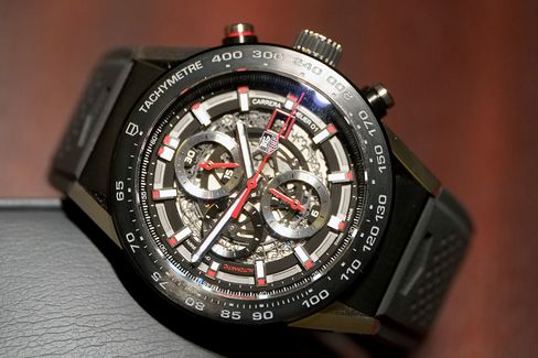 TAG Heuer's newest in-house chronograph.