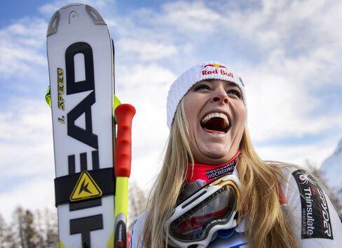 Pro Skier Lindsey Vonn