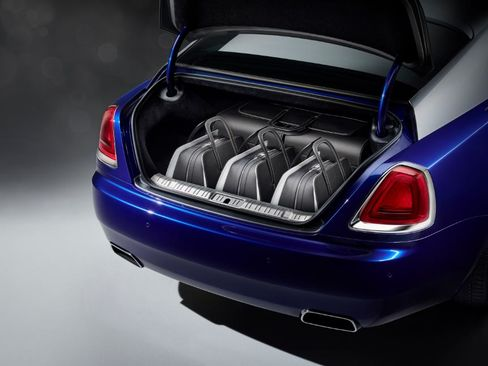 The bags are measured to the exact proportions of the Wraith's trunk.