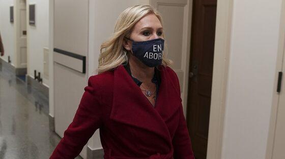 House GOP Leader Balks at Punishing Greene as Democrats Set Vote
