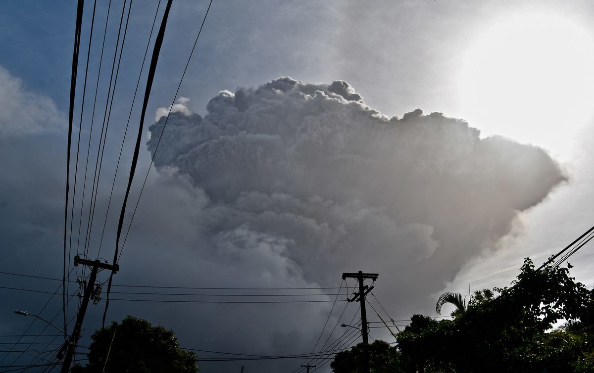Business news  news latest news  business updates 'Apocalyptic' St. Vincent Eruption May Cost Up to 50% of GDP thumbnail