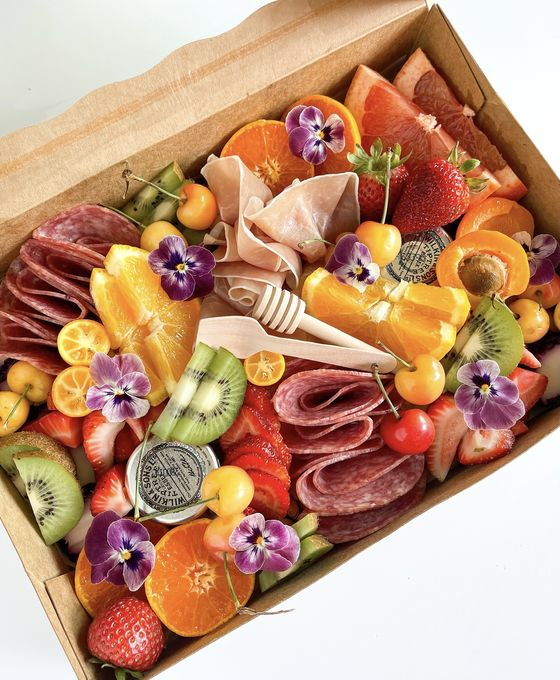 Charcuterie Boards Aren't Just for Meat and Cheese Anymore