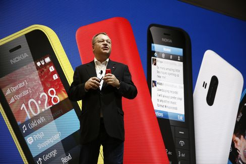 Nokia Oyj Head of Devices Stephen Elop