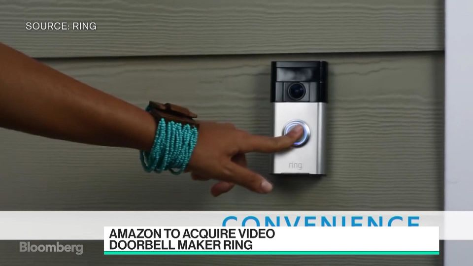 & Hereu0027s Why Amazon Bought a Doorbell Company - Bloomberg