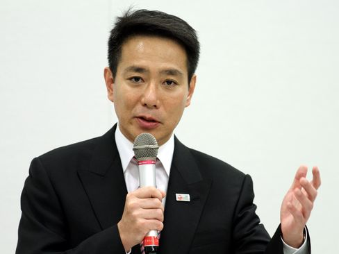 Democratic Party of Japan Policy Chief Seiji Maehara