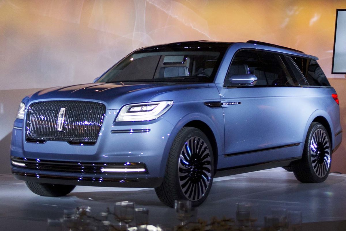 ford to revamp lincoln navigator suv with retro american