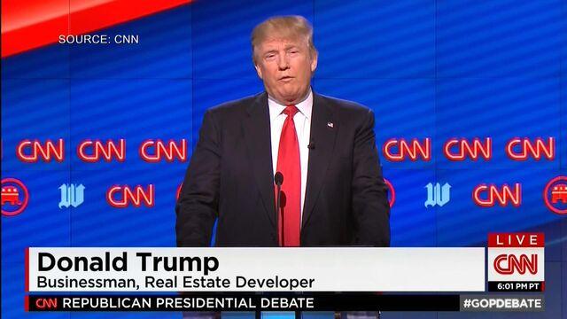 Report Card: Trump Unscathed in 12th Republican Debate
