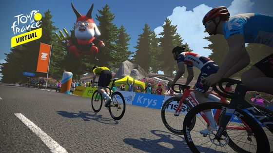 Get Ready for aVirtual Tour de France