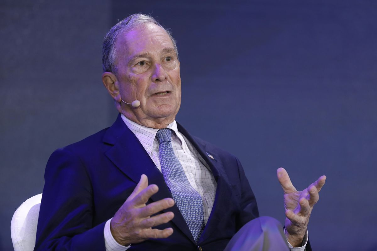 Michael Bloomberg Says China Can Be Pressured But Doesn't Use 'Dictator'