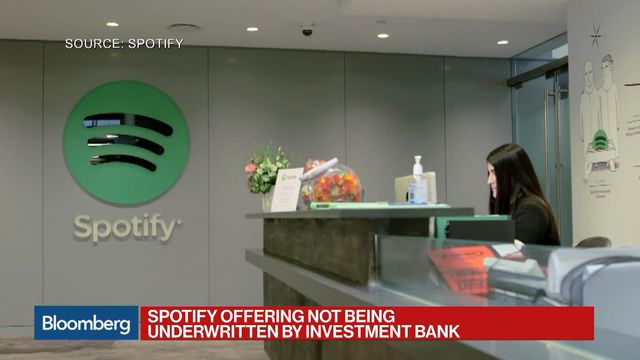 Image result for bloomberg spotify