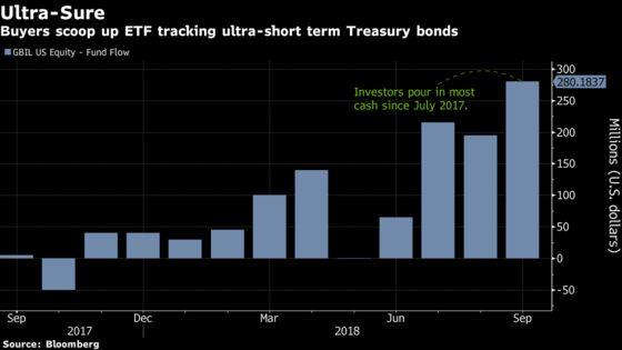 Ultra-Short Term Treasury ETFs Lure Buyers Amid Rising Rates