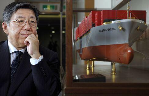 Kawasaki Kisen Kaisha Ltd. CEO Jiro Asakura