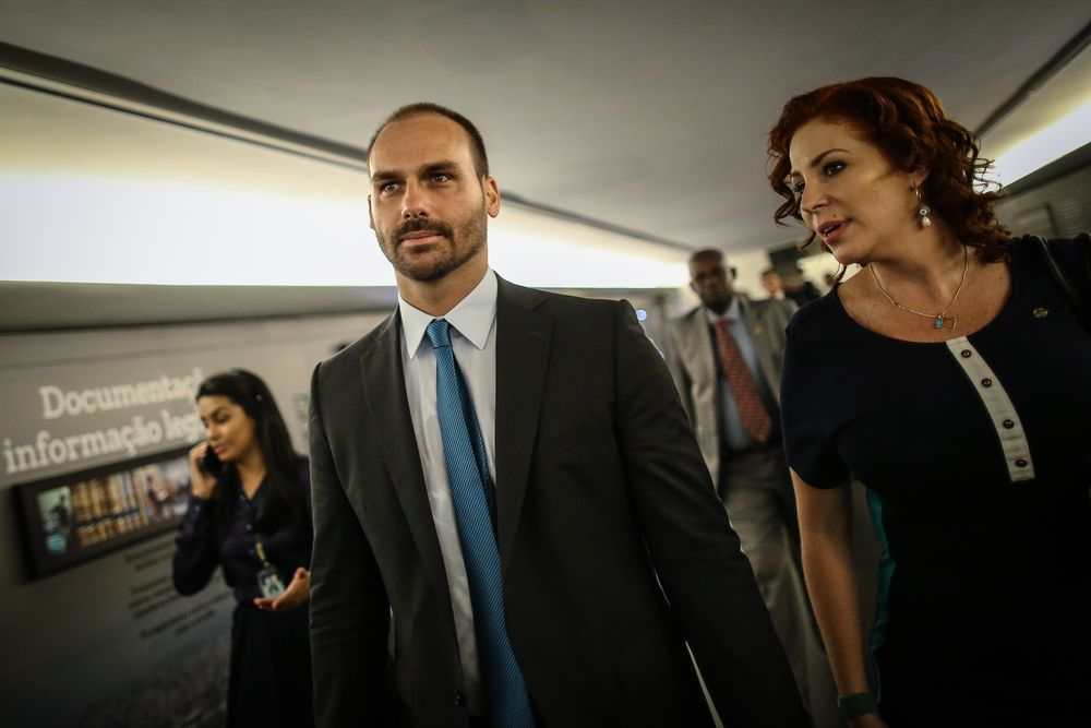 Son of Brazil's Leader Touts Burger Job in Pitch for Envoy Post