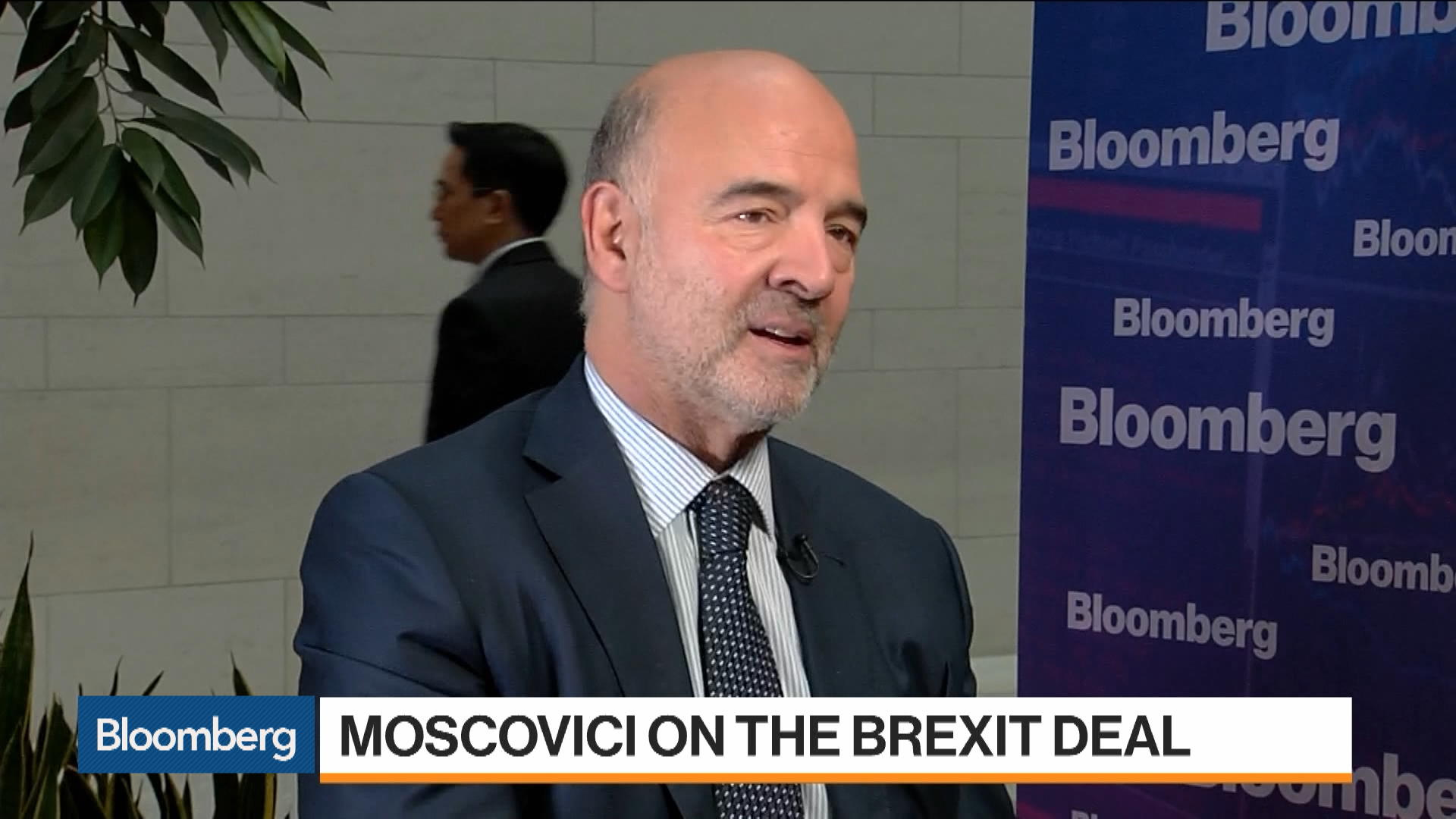 Brexit Deal Is a Defeat for Populism: Pierre Moscovici