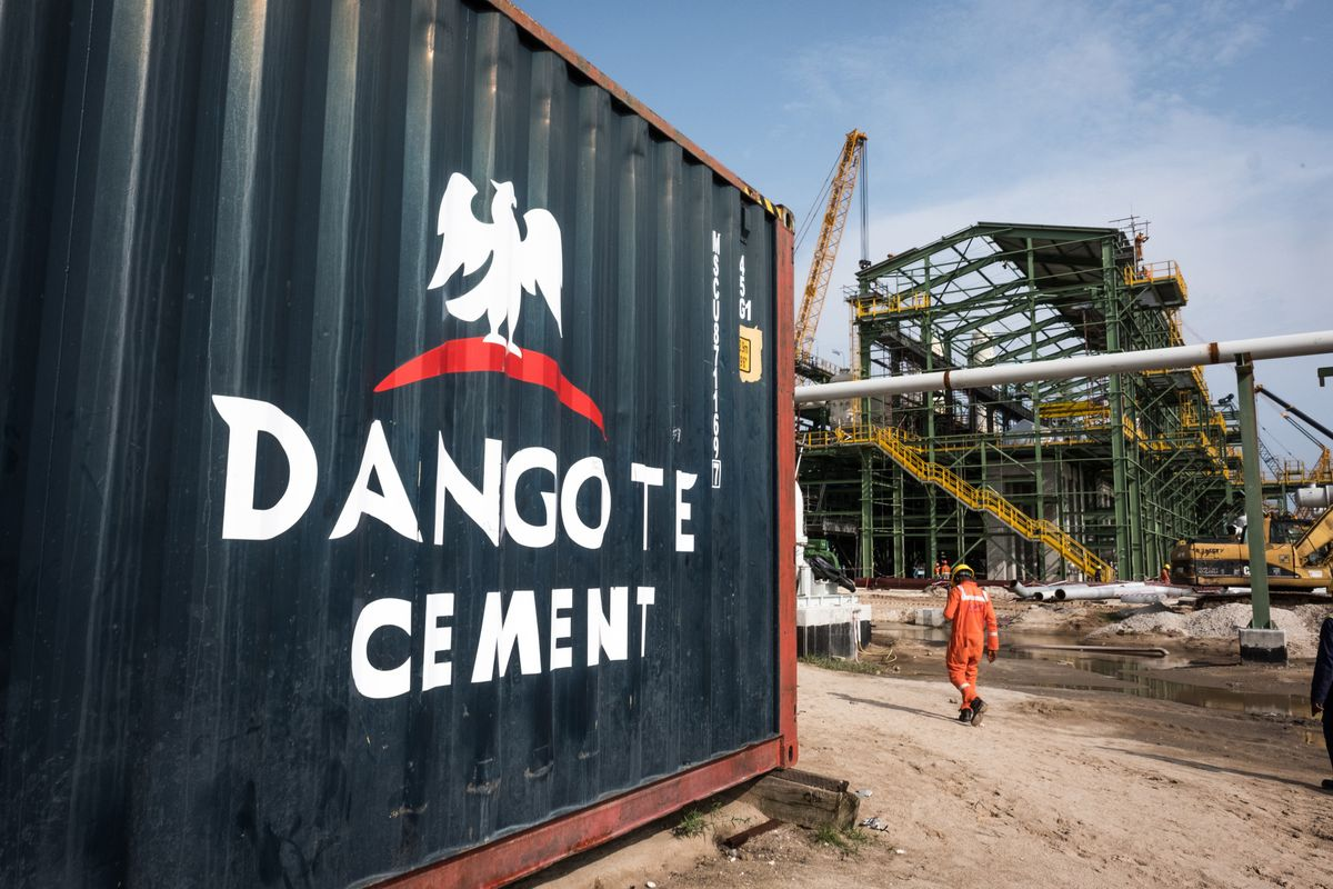 Dangote Cement First-Half Revenue Little Changed on Volume