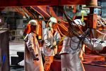 Operations Inside The ArcelorMittal Dofasco Inc. Steel Manufacturing Facility