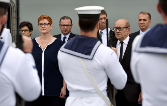 Nuclear Subs Put Workers in Australia's Shipbuilding Hub on Edge