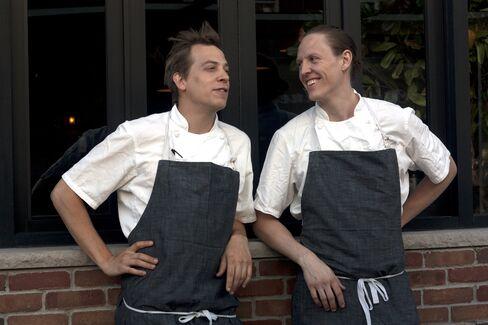 Justin Hilbert and Mark Owen