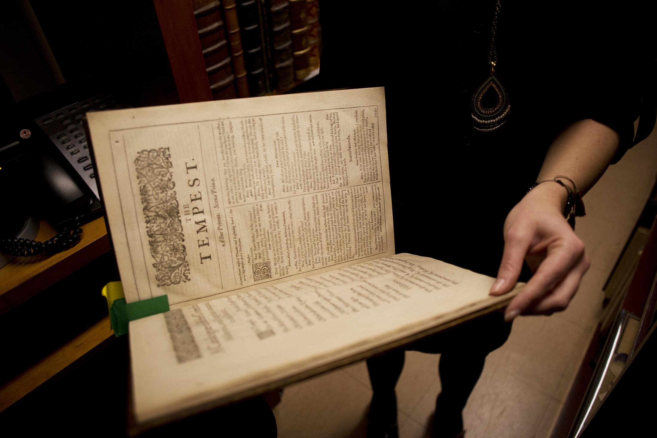 A Shakespeare Folio