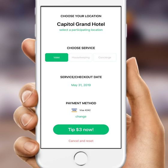Digital Tipping Is Coming to aHotel Near You