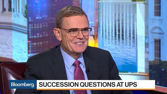 UPS Drops as Heir Apparent's Sudden Exit Rattles Wall Street
