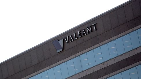 The Valeant Pharmaceuticals International Inc. headquarters in Bridgewater Township, New Jersey.