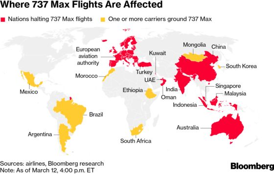 Boeing Suffers Historic Stock Rout in Global Uproar Over 737 Max