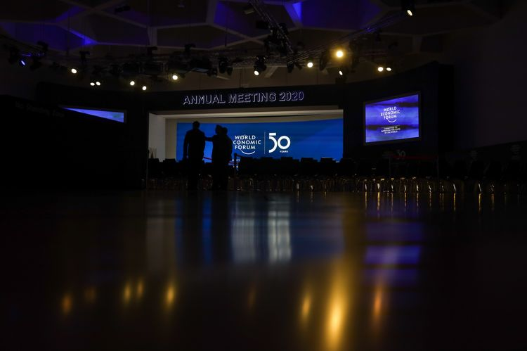 Day Two Of The World Economic Forum (WEF) 2020