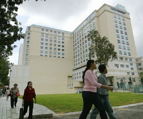 Raffles Medical May Buy Centers to Tap Spending