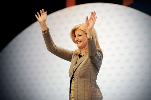 Arianna Huffington???s New Rules for Women: Less Leaning, More Sleeping