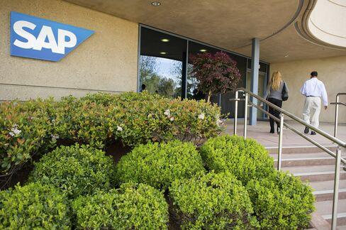 SAP Lifts 2012 Revenue Target as Software Sales Beat Estimates