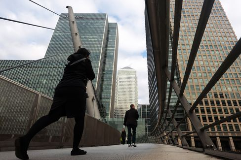 Canary Wharf and City Financial Districts