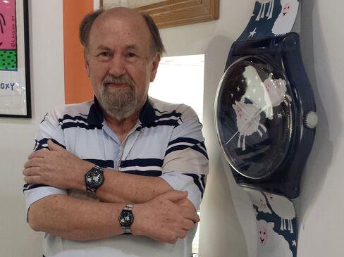 Collector Paul Dunkel