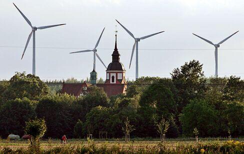 Wind Farm in Klettwitz