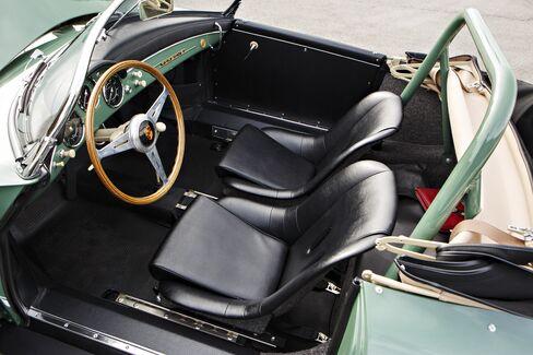 The 1958 Porsche 356 A Carrera Speedster GS GT.