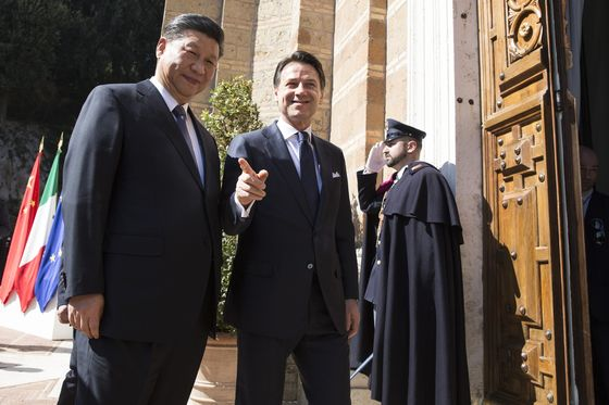 Here'sWhat Italy Signed Up to When Xi Came to Rome