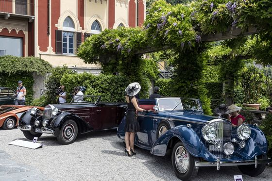 The World's Rarest Cars, on Display at Lake Como